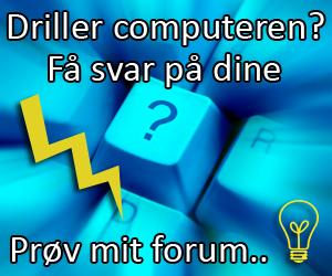 Gratis computer og it hjælp / support