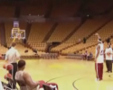 Basket spiller dunker 5 gange