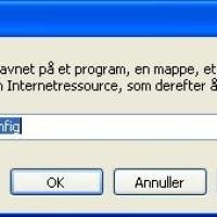 Stop autostart af programmer når XP / Vista starter