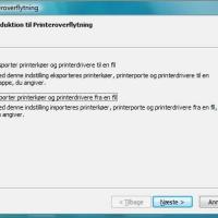 Sådan kopieres printere i Windows Vista
