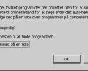 Kan ikke åbne exe filer i Windows