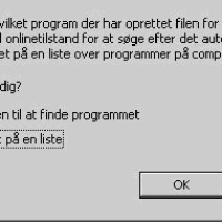 Kan ikke åbne exe filer i Windows