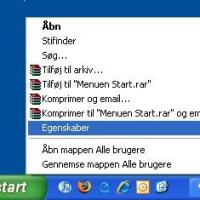 Vis skjulte filer og mapper i Windows XP