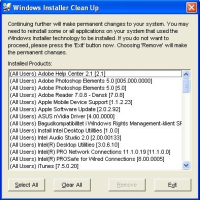 Kan ikke fjerne programmer i Windows