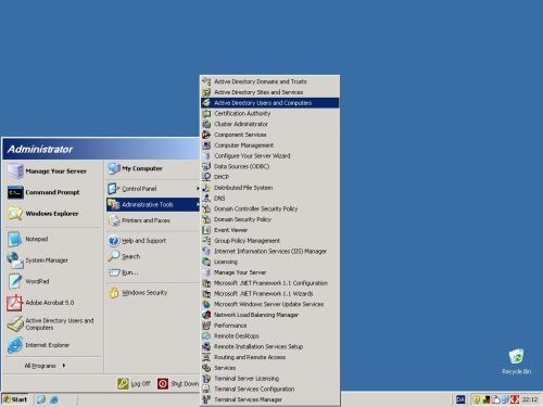 Sådanne installeres Adobe 5 på server 2003