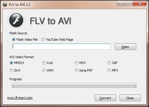 Konvertere flash video (flv) til andet format