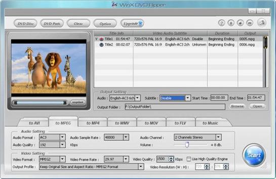 Backup af dvd film