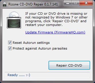 CD/DVD virker ikke i Windows
