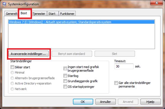 Sådan får du Windows 7 til at starte hurtigere