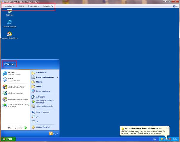 Sådan kører du virtual XP mode i Windows 7