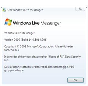 Sådan sender du filer i Messenger 2009