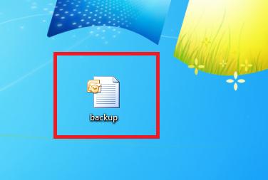 Backup af kontaktpersoner i Outlook