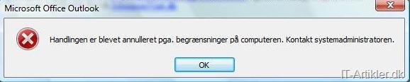 Kan ikke åbne links i Microsoft Outlook 2010