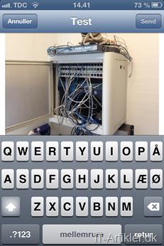 Sådan indsætter du billeder i en mail på iPhone / iPad
