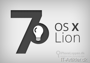 7 nemme tips til OS X Lion på Mac